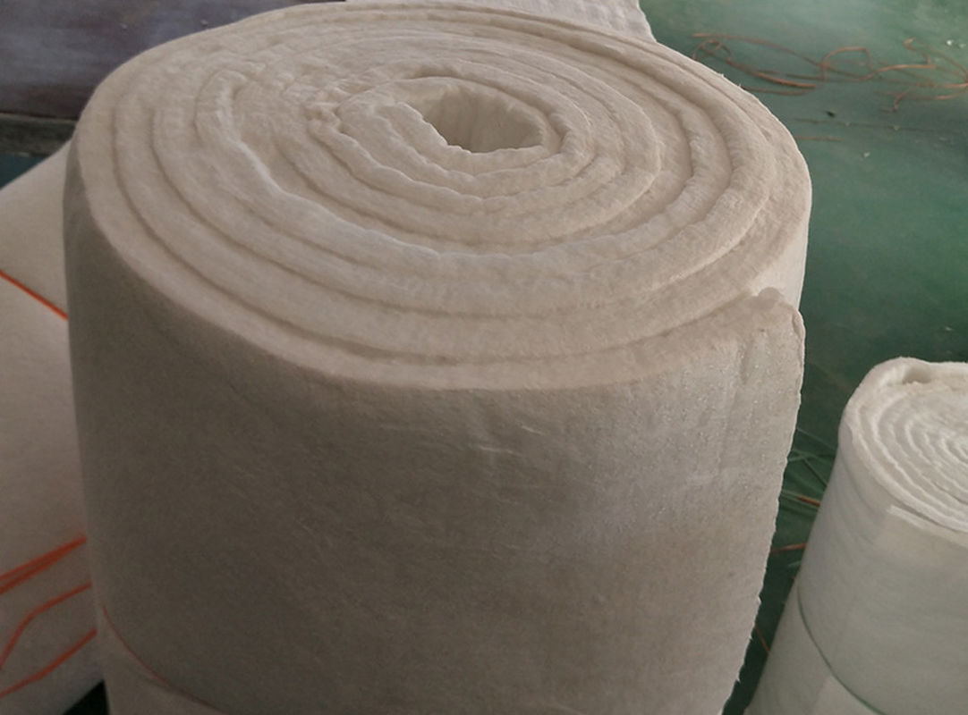 Bio Soluble High Temperature Ceramic Fiber Blanket White